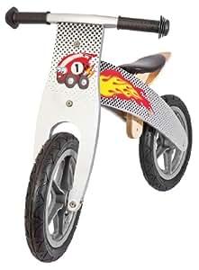 Draisienne - Balance (vélo d'apprentissage sans pédales) divers coloris, Coloris:flamme rouge