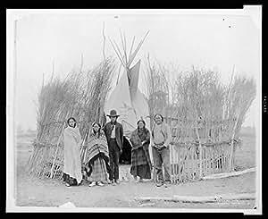 Amazon.com: Photo: Arappaho, Arapaho Indians, Tipi, Brush Fence
