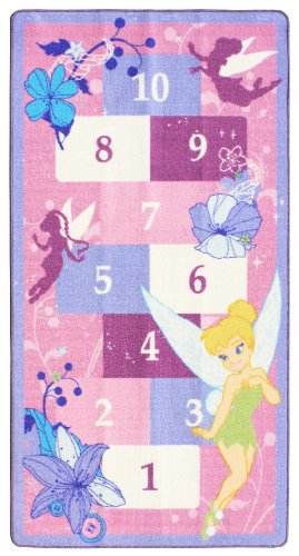 Disney Fairies Hopscotch Rug