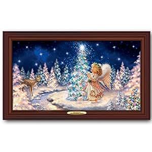 Dona gelsinger my christmas wish illuminated for Christmas wall art amazon