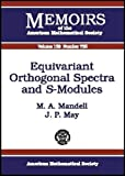 img - for Equivariant Orthogonal Spectra and S-Modules (Memoirs of the American Mathematical Society) book / textbook / text book