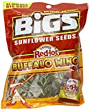 BIGS Franks RedHot Buffalo Wing Sunflower Seeds, 5.35-Ounce Bags (Pack of 12)
