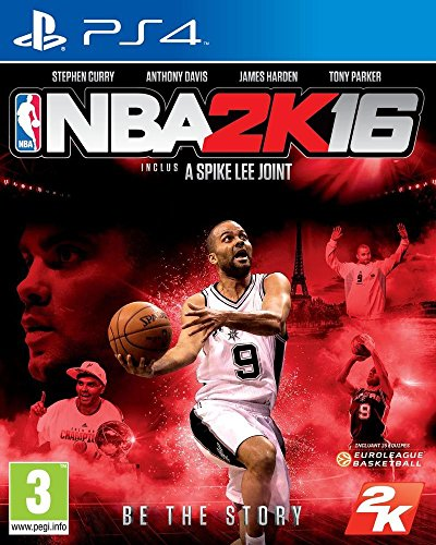 NBA 2K16 (French version with English Language)