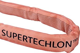 Mazzella Supertechlon Polyester Round Sling, Endless, Vertical Load Capacity