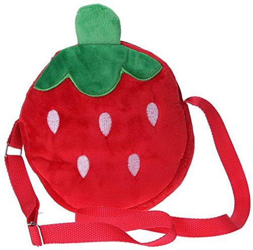 eozy-borsa-a-tracolla-frutti-per-bambini-di-panno-floccaggio-misura-circa-191935cm-rosso-fragola