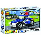 COBI Action Town Police Patrol Car, 115 Piece Set [Toy]