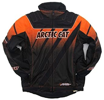 Arctic Cat Mens ZR Limited Edition Orange Snowmobile Jacket - OEM - 5240-75 by Arctic Cat