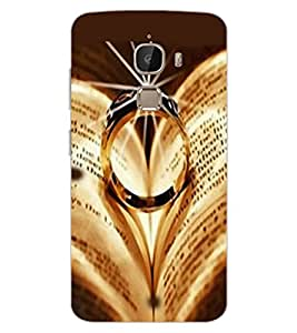 ColourCraft Beautiful Ring Design Back Case Cover for LeEco Le 2 Pro