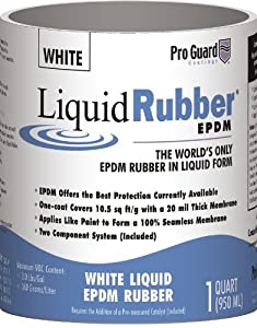 Liquid Rubber 1 Gallon White