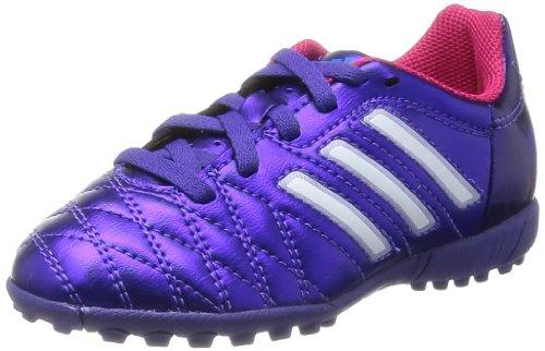 adidas Performance 11Questra TRX TF J, Scarpe da corsa uomo, Viola (Blast Purple/Running White FTW/Vivid Berry), 45