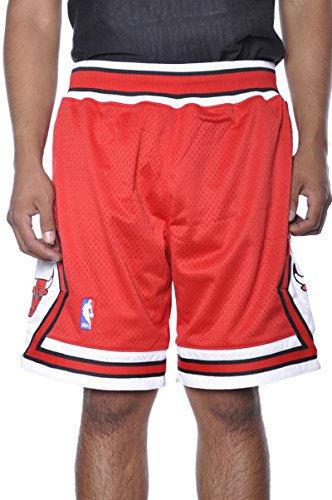 Mitchell & Ness Mens NBA Chicago Bulls Jersey Basketball Authentic Rare Shorts