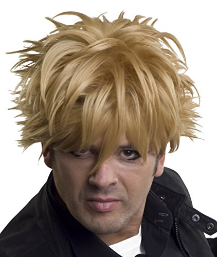 Enigma Men's Messy Anime Cosplay Wig