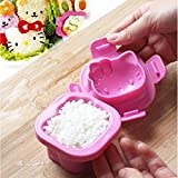 Crazydeal Cute Cat Kitty Sushi Egg Cake Cookie DIY Bento Maker Mold Mould Kitchen Tool