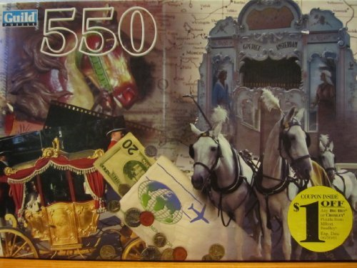 Guild Horse and Carriage Montage 550 Piece Puzzle