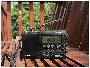 TECSUN Radio PL-660 PLL AIR/FM/MW/LW/SW SSB SYNC Worldwide Radio PL660 with High sensitivity and selectivity