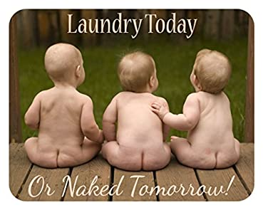 Laundry Today or Naked Tomorrow - 14x11