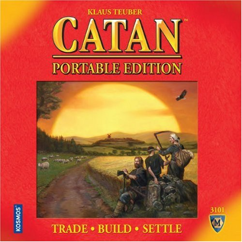 Settlers of Catan Travel Ed. [englischsprachige Version]