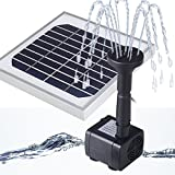 Magicfly Power Panel Kit 3W Solar Water Pump Fountain Pool Garden Watering