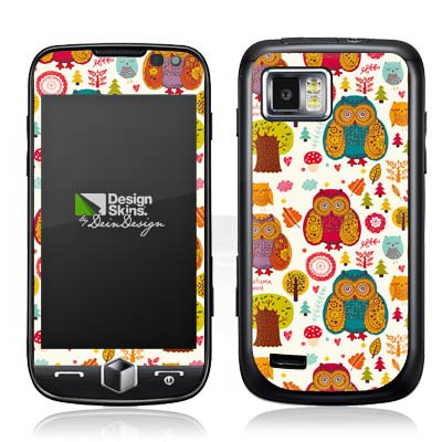 Skins Design f&#252;r Crazy Woods Omnia 2 I8000 - Samsung Design Folie