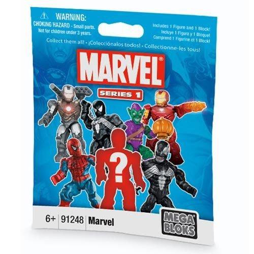 Marvel Mega Bloks Figures - Individual Packs - 1