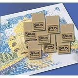 Sax Art Gum Block Erasers, 1 x 1 x 1/2 Inches, Pack of 24