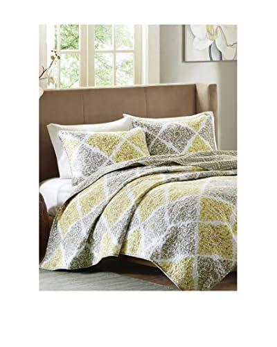 Luxury Home 3-Piece Myrtle Quilt Set