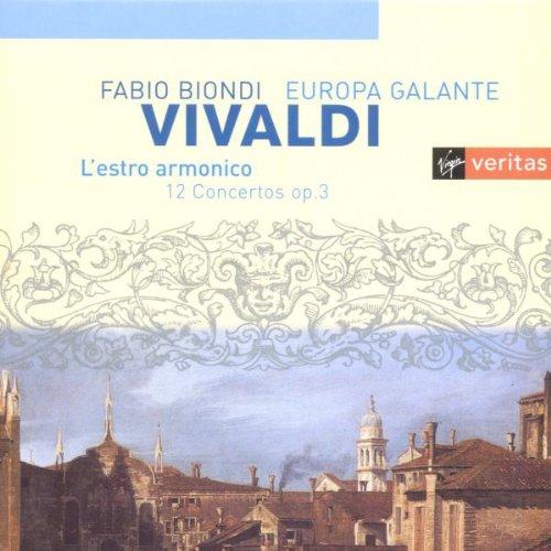 Vivaldi : L'estro armonico / Fabio Biondi, Europa Galante