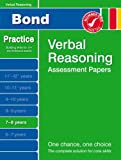 Andrew Baines Bond Verbal Reasoning Assessment Papers 7-8 years