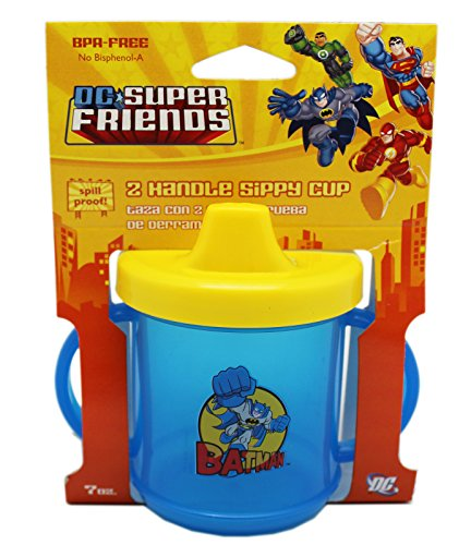 DC Superfriends Batman Blue 2 Handle Sippy Cup