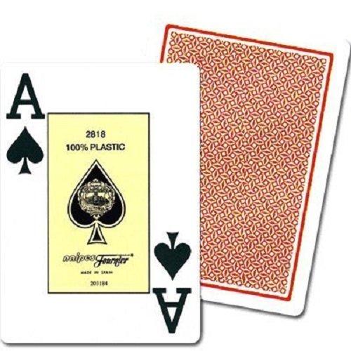 Imagen principal de Fournier - Baraja Poker, nº 2800, 55 cartas, color rojo / azul (1028935)