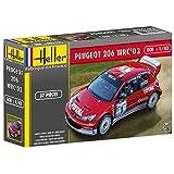 Heller Peugeot 206 WRC '03 Car Model Building Kit
