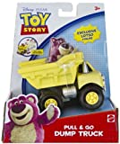 Lotso Mini-Figure + Dump Truck: Toy Story Pull & Go Vehicle Series
