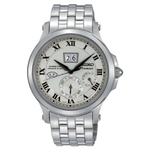 Seiko Men'S Snp039 Silver Dial Watch