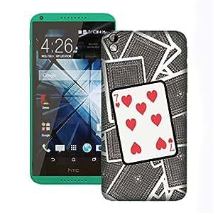 ZAPCASE Printed Back Case for HTC 816
