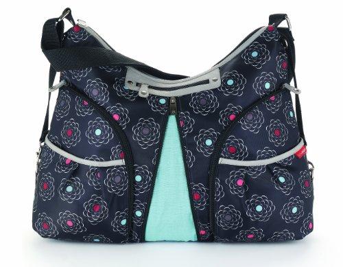 Skip Hop Versa Diaper Bag, Rose Flower