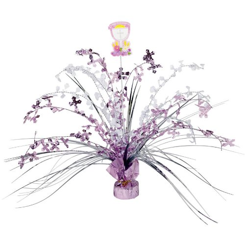 Amscan Communion Spray Centre Pieces, Pink