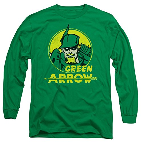 DC Green Arrow Archer Circle Long Sleeve T-Shirt