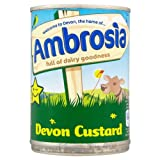 Ambrosia Devon Custard 12 x 400gm