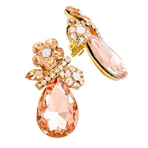 rosemarie-colecciones-de-la-mujer-crystal-rhinestone-clip-en-los-pendientes-flores-lagrima-melocoton