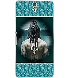 SONY XPERIA C5 LORD SHIVA Back Cover by PRINTSWAG
