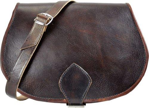 Handtasche Gusti Leder Umhängetasche Tasche Handtasche Herren Damen Ipad Kindle Vintage Messengerbag K2