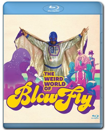 Cover art for  Blowfly - Weird World [Blu-ray]