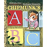Richard Scarry's Chipmunk's ABC (Little Golden Book) ~ Roberta Miller