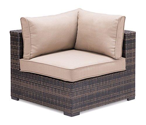 Grindsted Corner Chair Brown