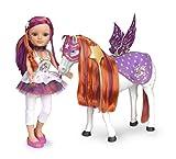 Famosa - Muñeca Nancy, con caballo, 56 x 46 cm (700012426)
