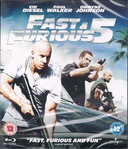 Fast & Furious Five [Blu-ray] (Region Free)