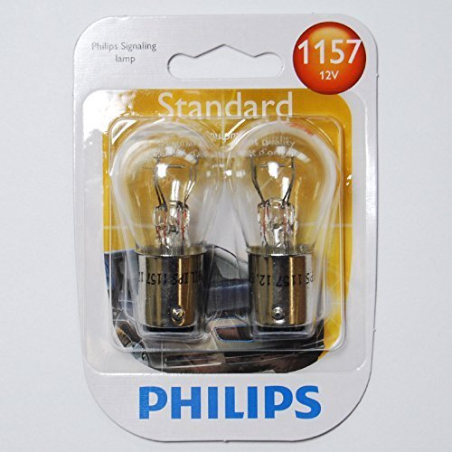 Philips 1157 - 12.8v P21/5W S8 Automotive Lamp - 2 Bulbs (P21 5w Bulb compare prices)