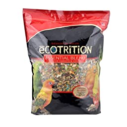 Ecotrition Essential Blend for Parrots and Conures, 5 pounds (C2135)
