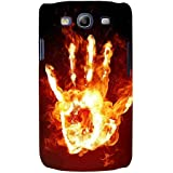 For Samsung Galaxy S3 I9300 :: Samsung I9305 Galaxy S III :: Samsung Galaxy S III LTE Fire Hand ( Fire Hand, Hand, Burning Hand, Fire ) Printed Designer Back Case Cover By FashionCops