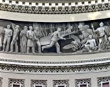 Photography Poster - Wright Brothers frieze in U.S. Capitol dome Washington D...